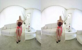 Incredibly Hot Busty MILF striptease