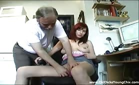 Redhead fingered at work