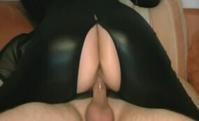 Latex amateur lady