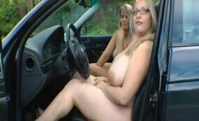 Ride with naked bbw blondes