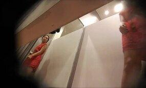Hidden cam at public bathroom