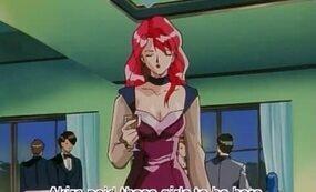 Hentai anime redhead slut