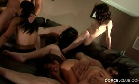 Homemade orgy sex party